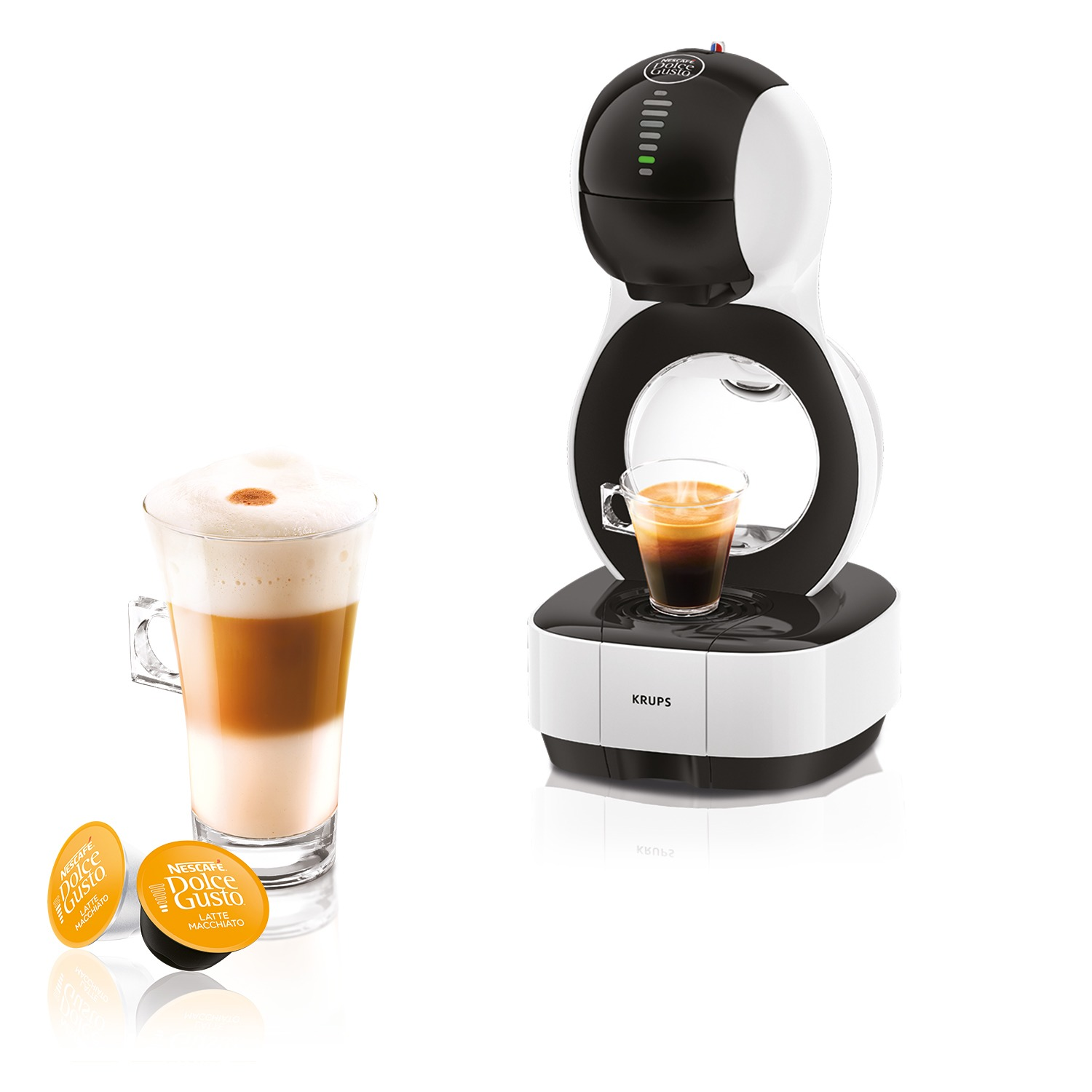 Krups KP1301 Dolce Gusto Lumio Espresso apparaat Wit