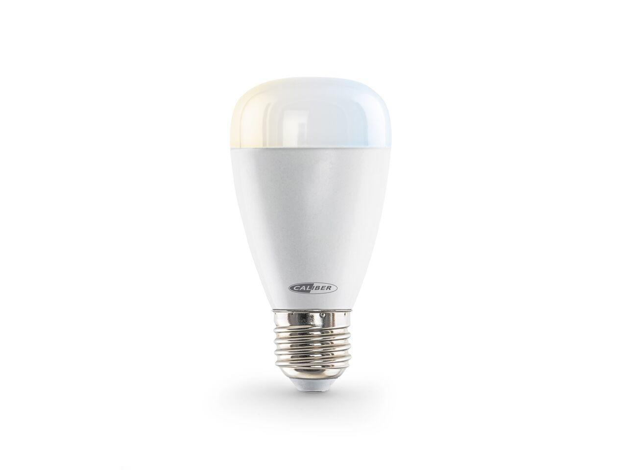 Korting Caliber HWL2201 Smart Lamp E27 (werkt met Google Assistant) Smartverlichting