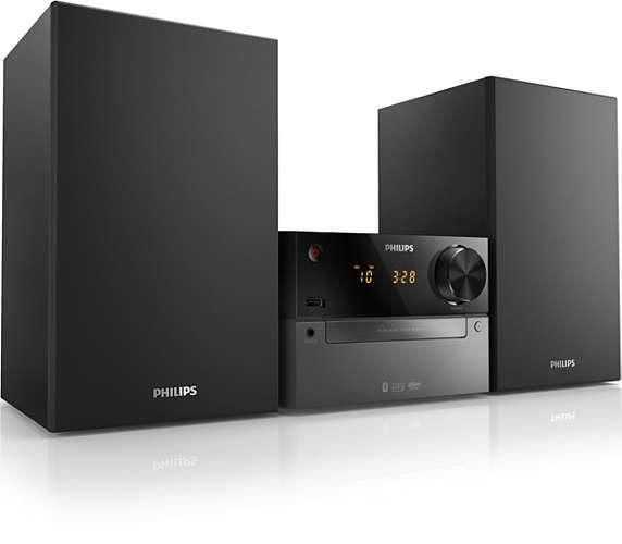 Korting Philips BTM2310 12 stereo set
