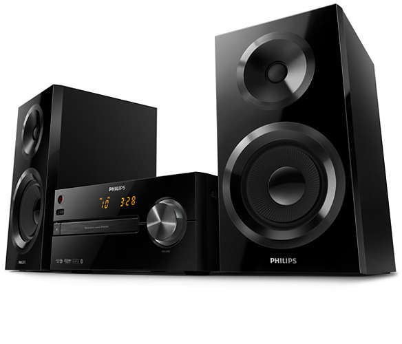 Philips stereo set BTM2560-12