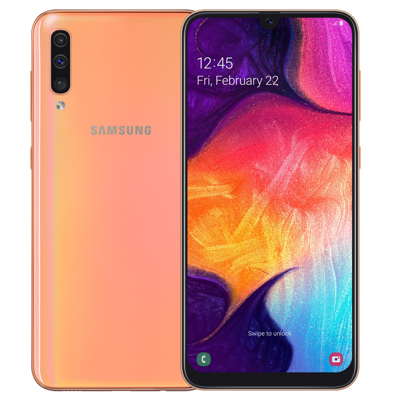 Samsung smartphone Galaxy A50 128GB rood