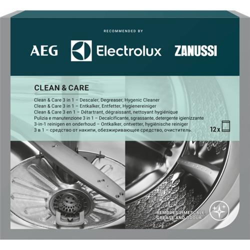Electrolux M3GCP400 onderhoudsset wasmachine/vaatwasser 12pack Wasmachine accessoire Grijs