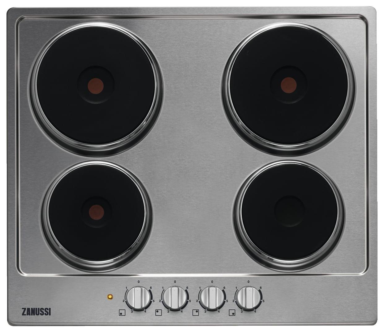 Zanussi ZEE6942FXS Elektrische kookplaten Roestvrijstaal