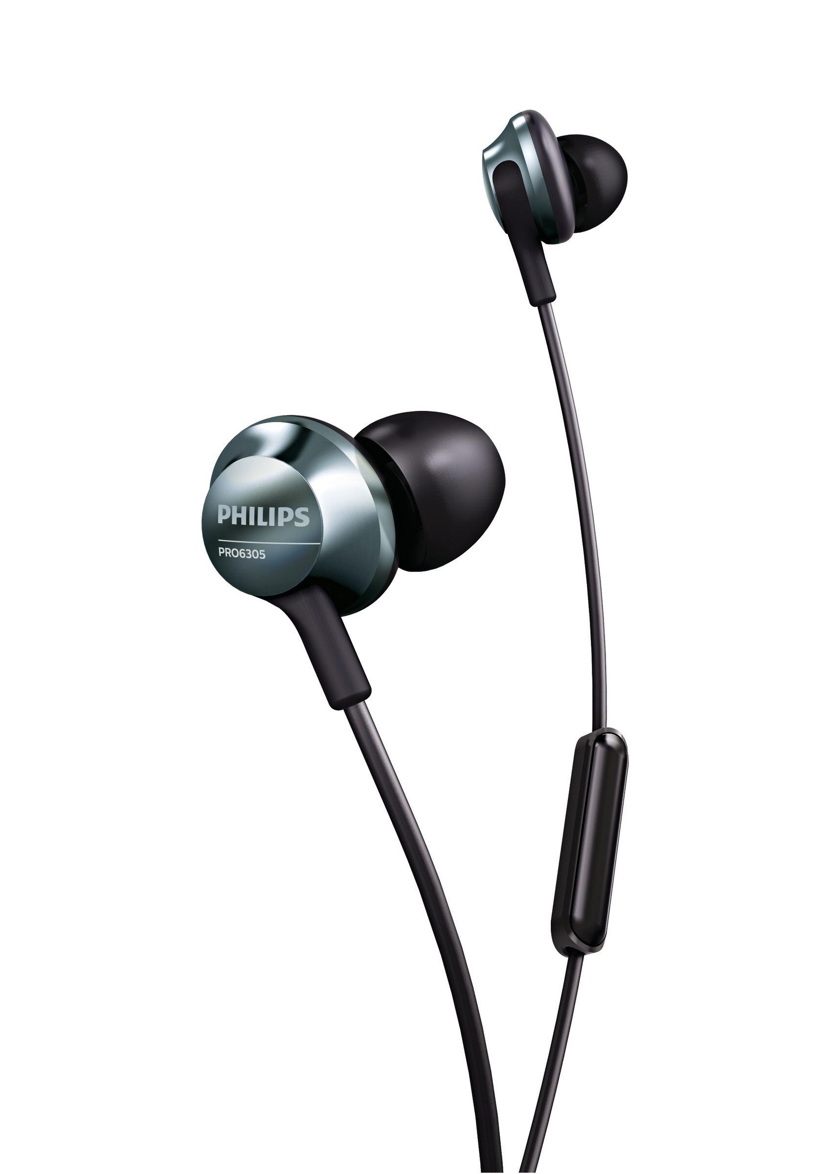 Foto van Philips PRO6305BK In-ear oordopjes