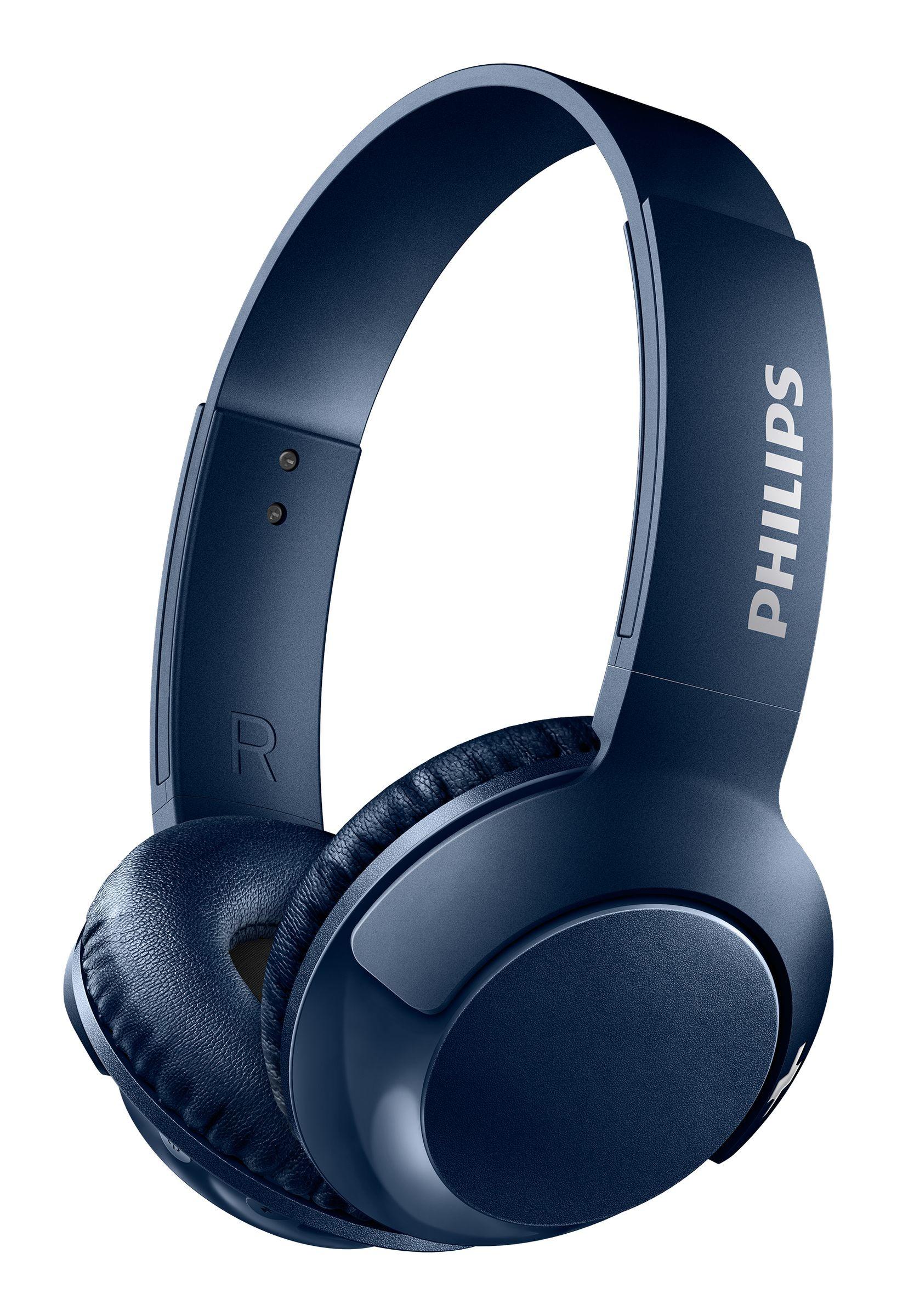 Philips on ear hoofdtelefoon SHB3075BL blauw