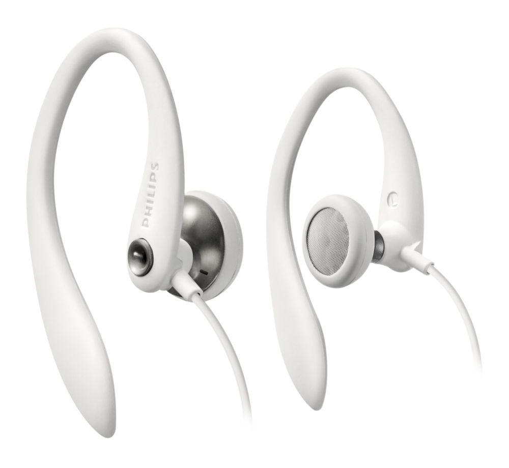 Foto van Philips SHS3300WT In-ear oordopjes