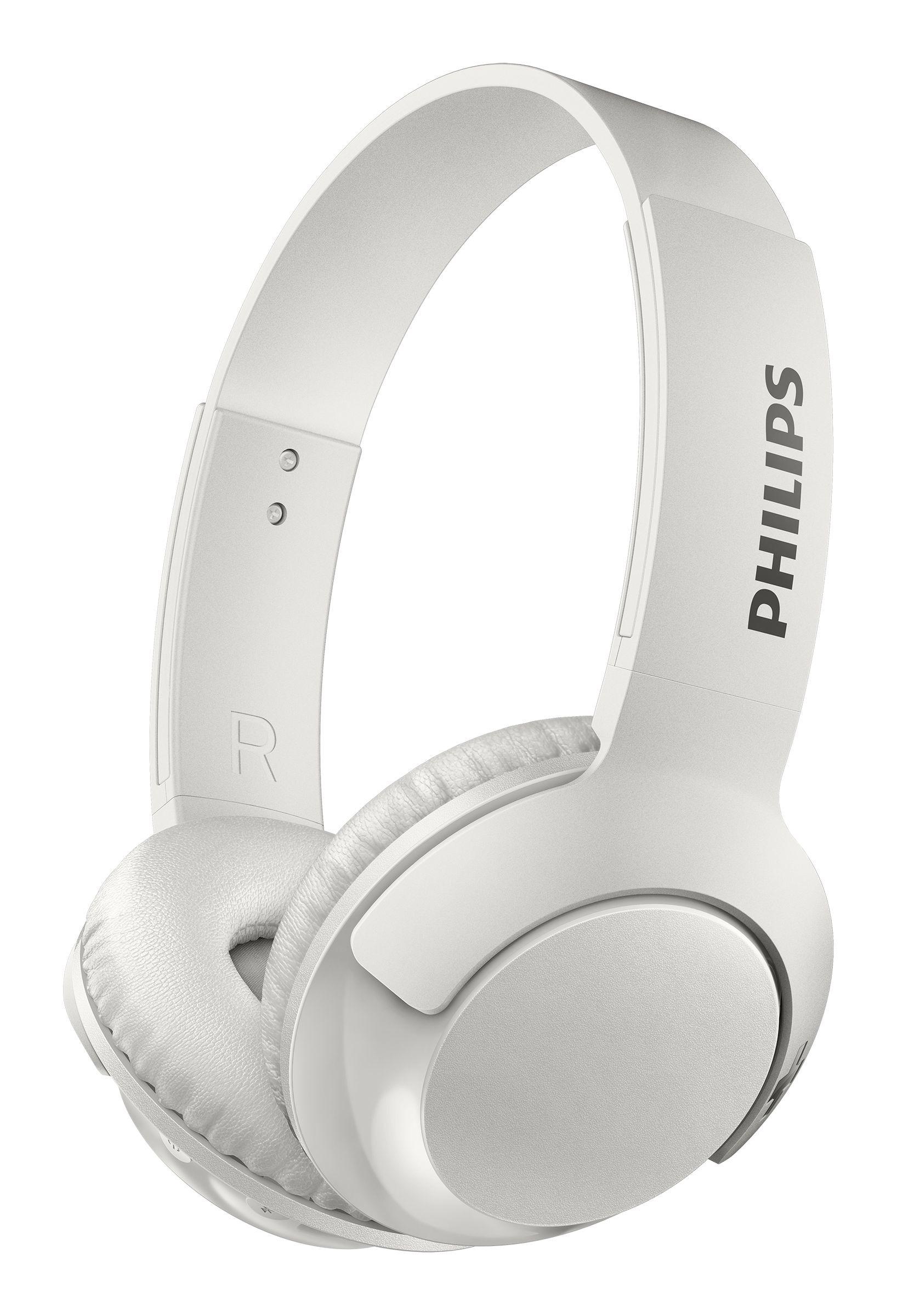 Foto van Philips SHB3075WT Bluetooth On-ear hoofdtelefoon