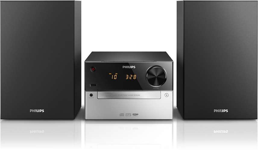 Korting Philips MCM2300 stereo set