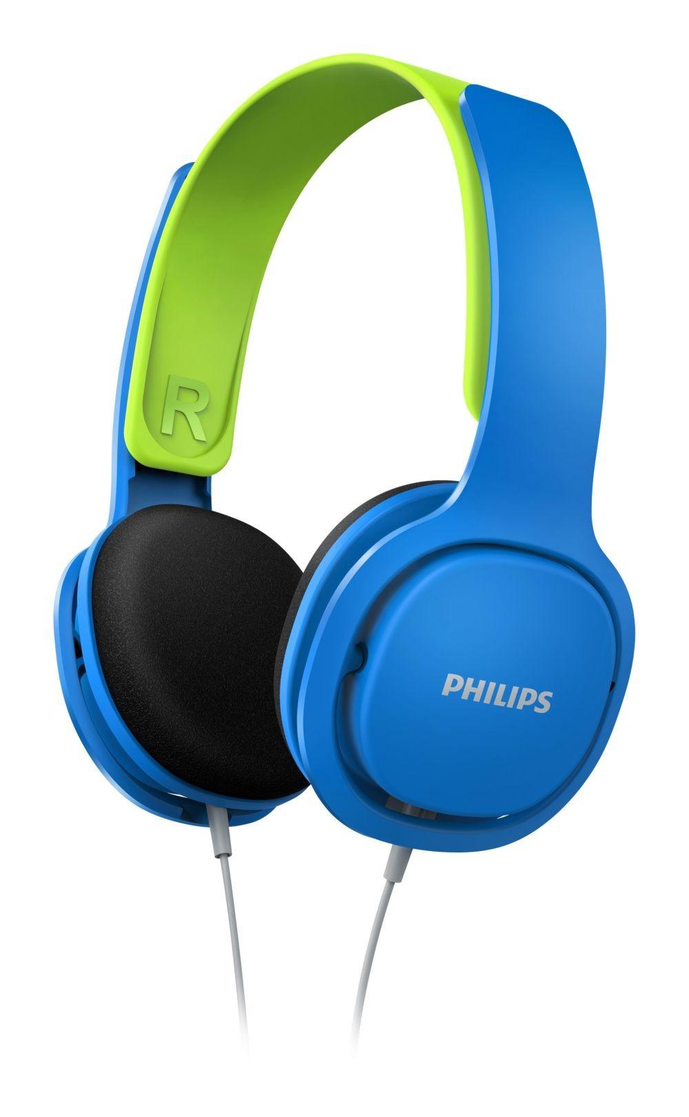Korting Philips SHK2000BL kids hoofdtelefoon