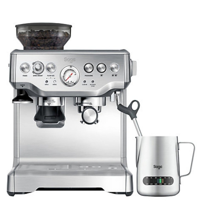Sage THE BARISTA EXPRESS STAINLESS STEEL Espresso apparaat Aluminium