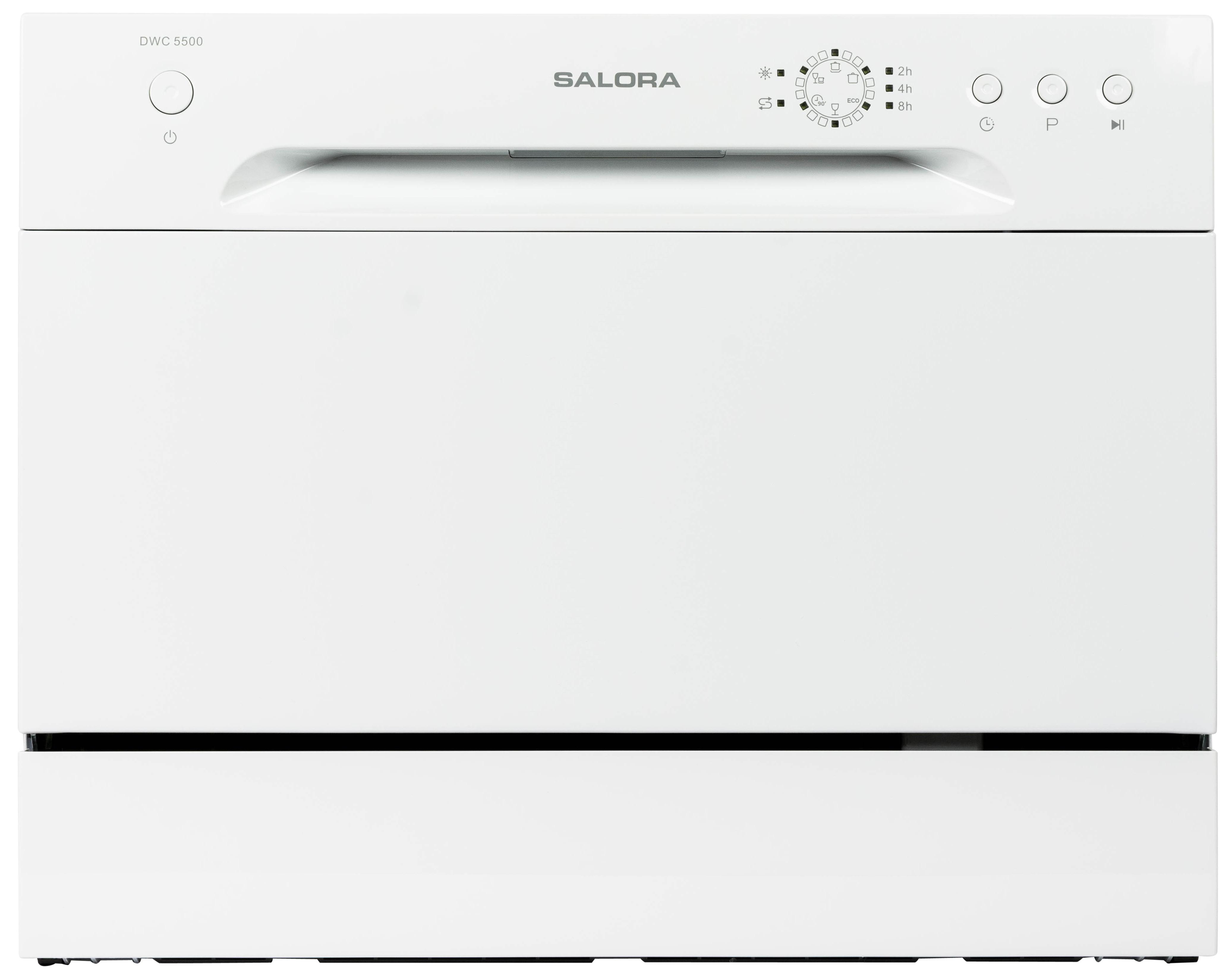 Salora DWC5500 Vrijstaande vaatwasser Wit