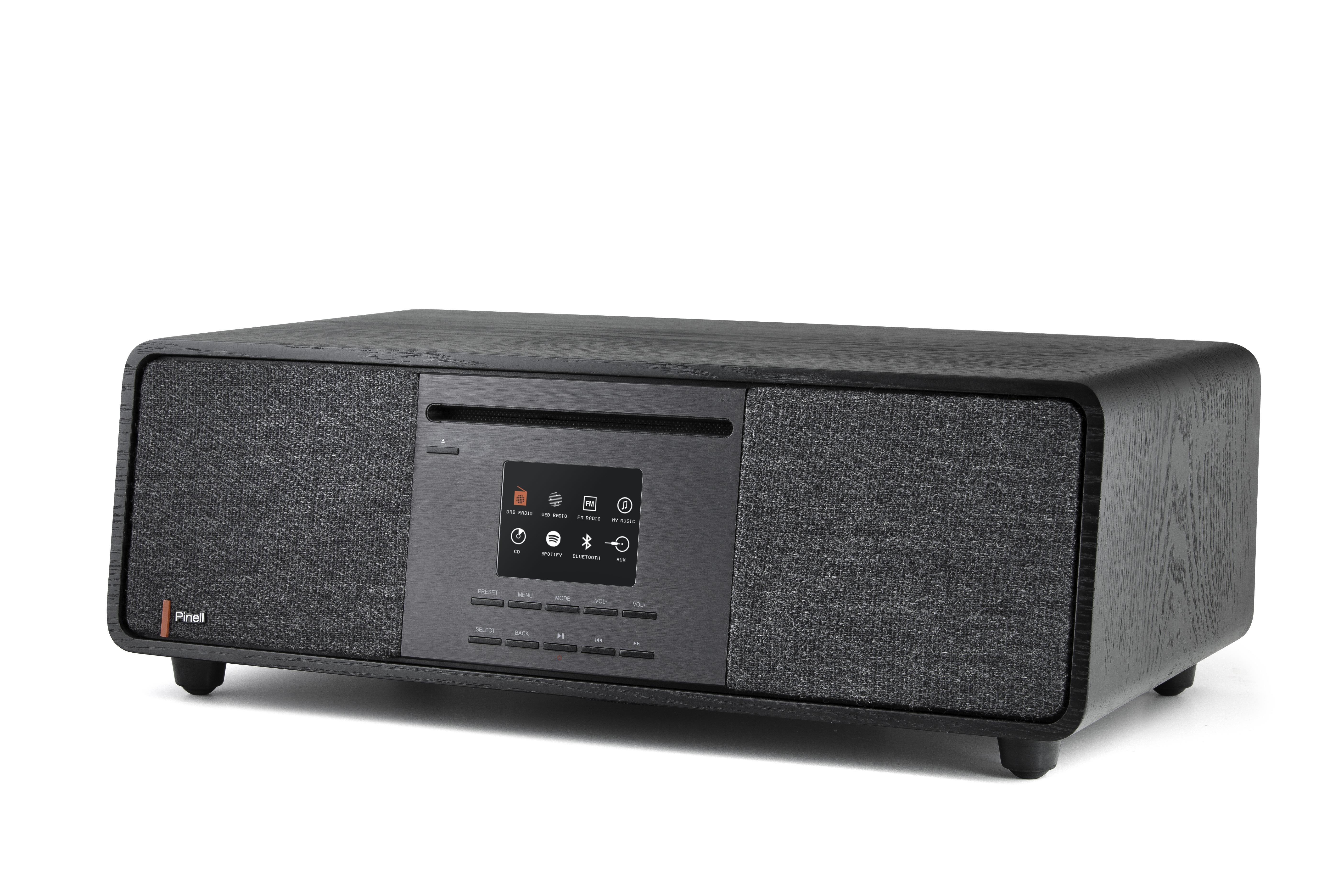 Pinell dab radio Supersound 701 zwart