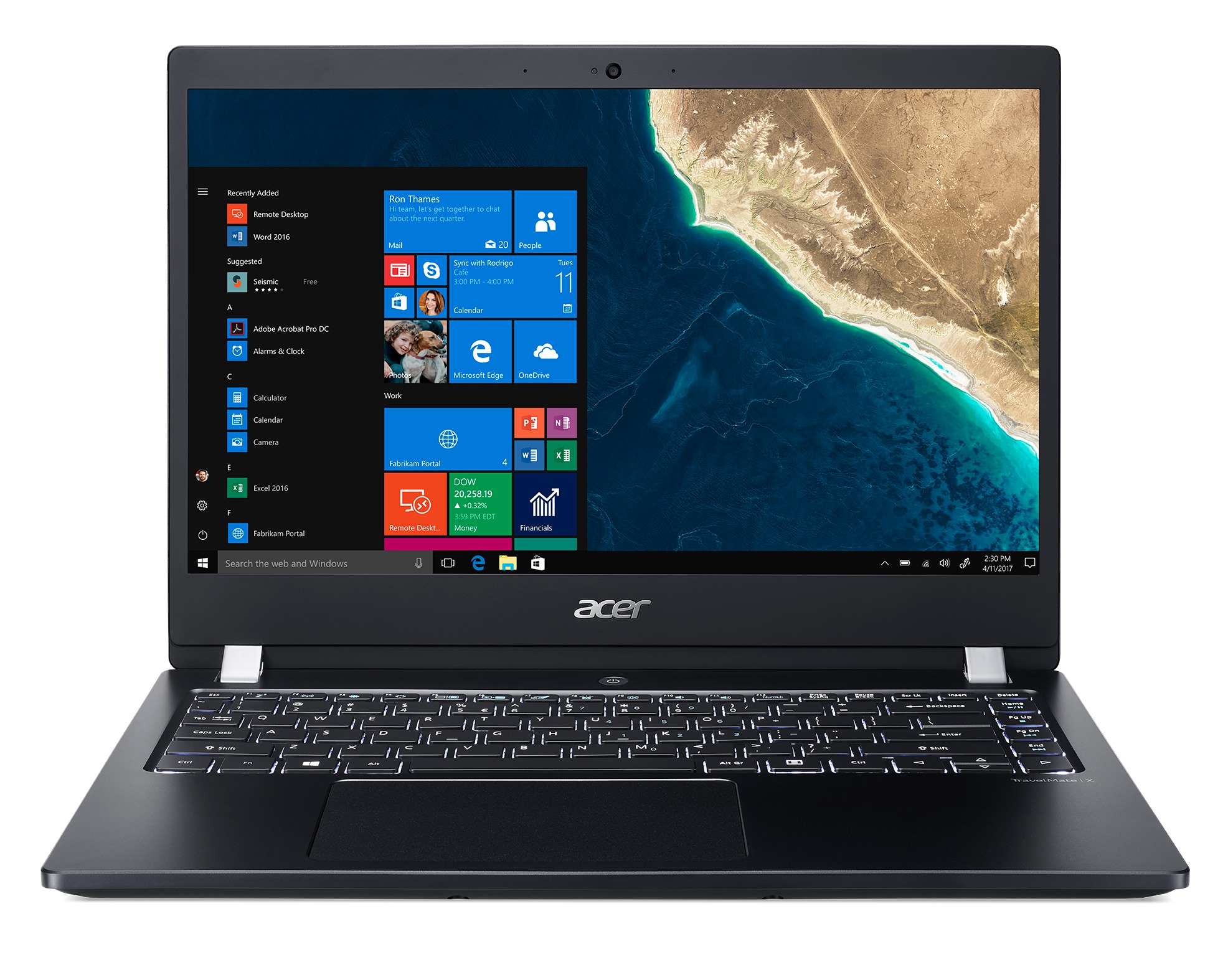 Korting Acer TravelMate X3 TMX3410 M 50QD laptop