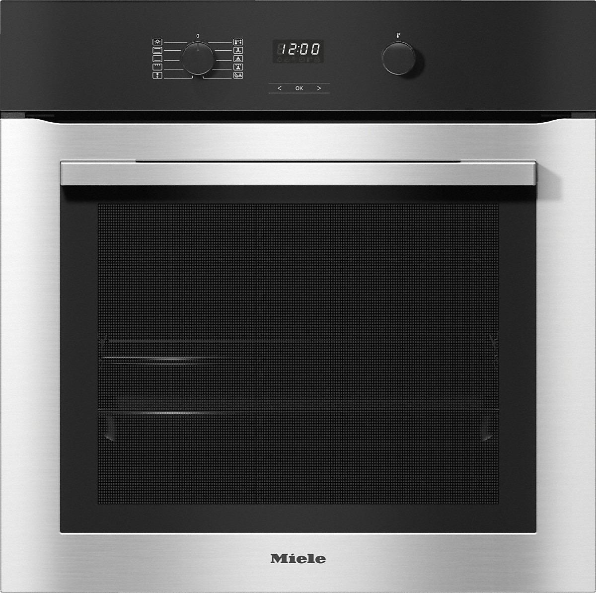 Miele H 2760 B Inbouw oven Aluminium