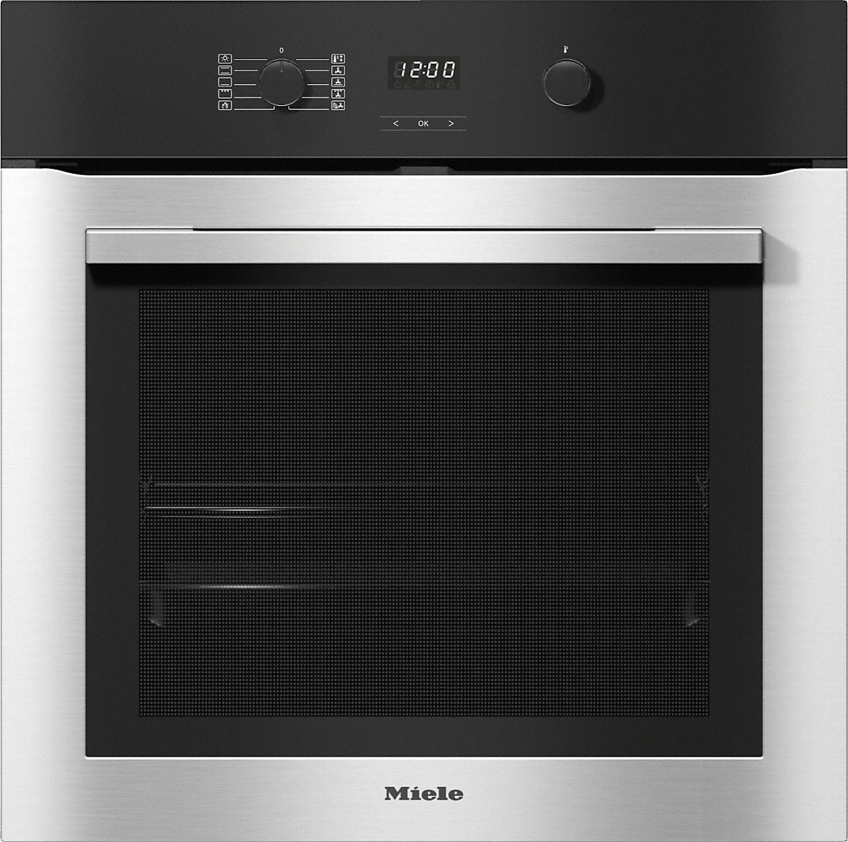 Miele H 2760 BP Inbouw oven Aluminium