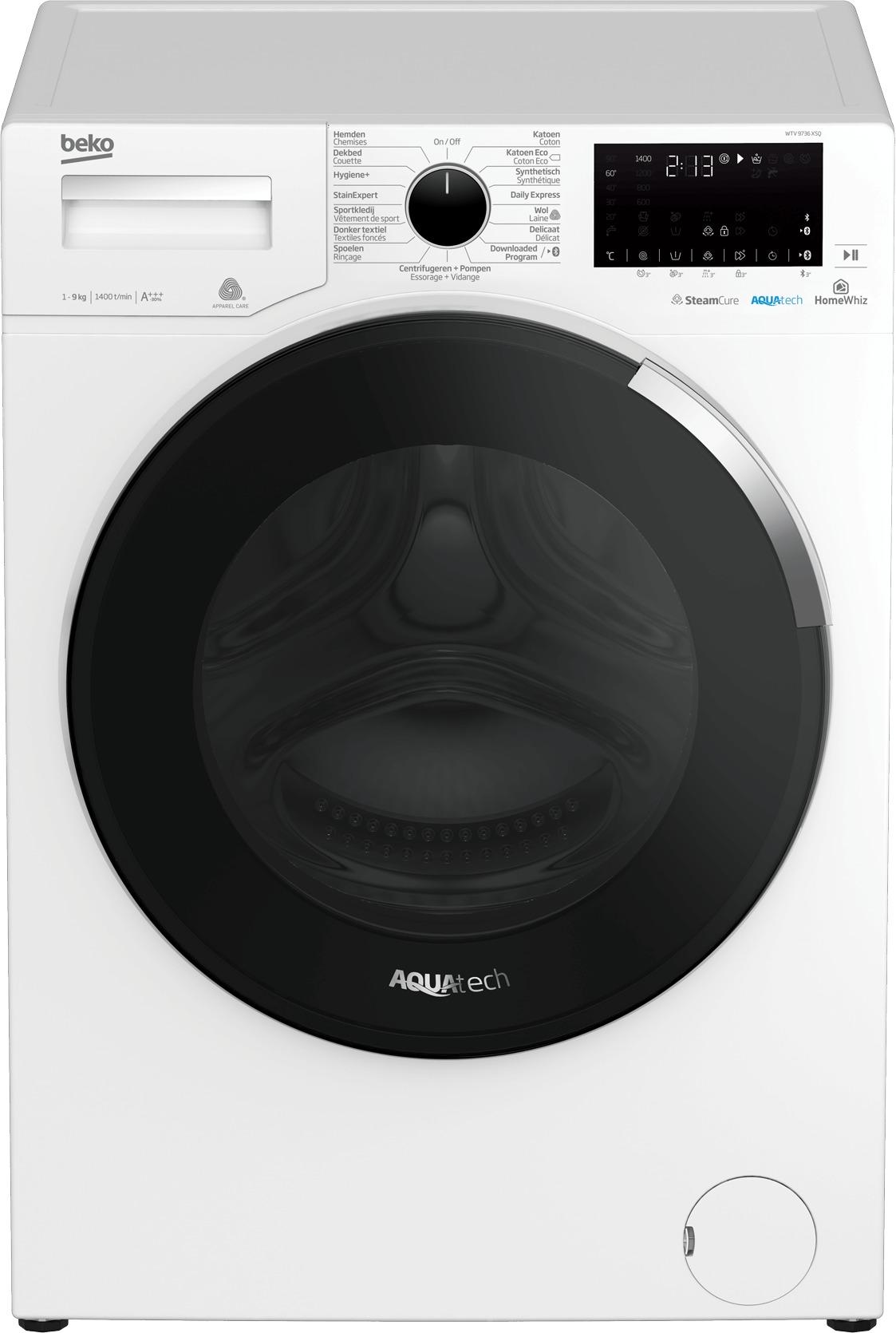 Beko WTV9736XSQ wasmachine