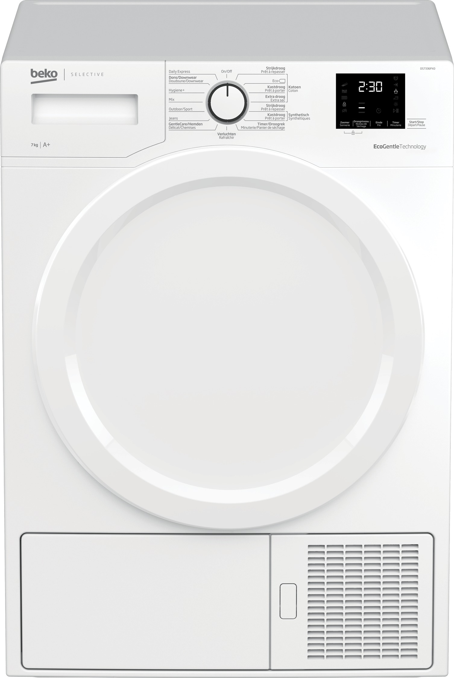 Beko DS7336PX0 Warmtepompdroger Wit