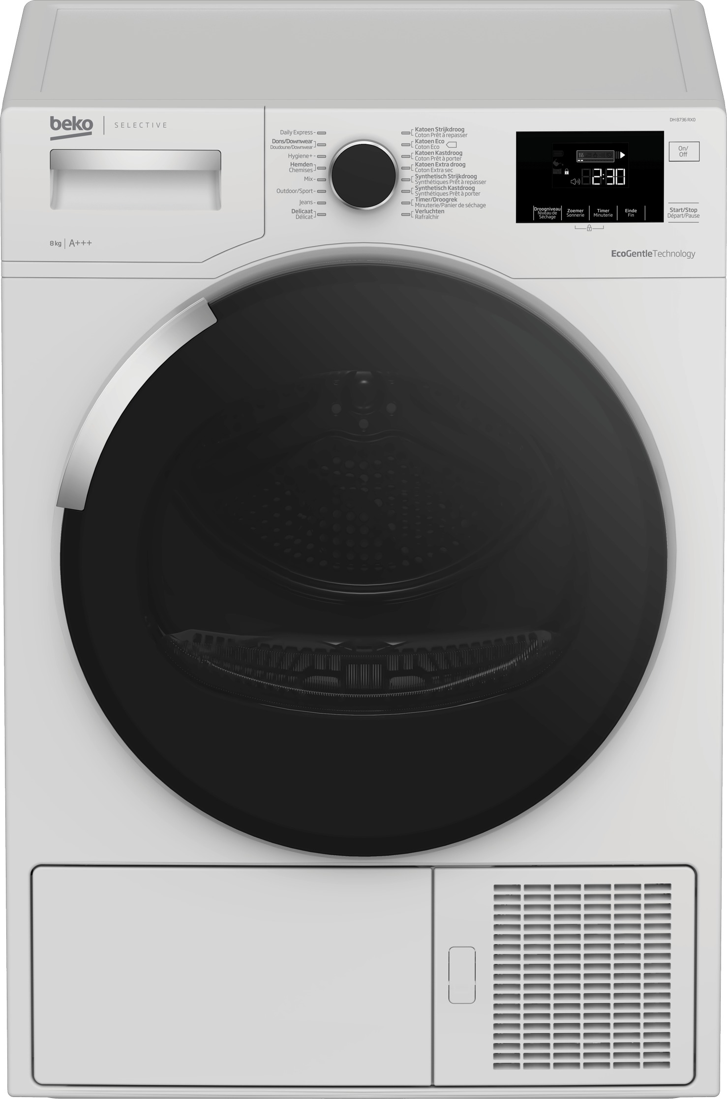Beko DH8736RX0 warmtepompdroger