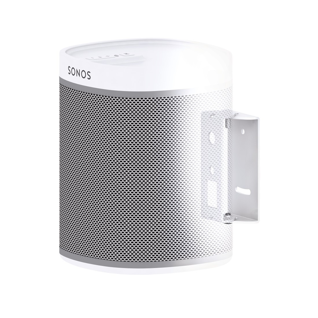 Hama audio muurbeugel Muurbevestiging voor Sonos PLAY1 swivel wit