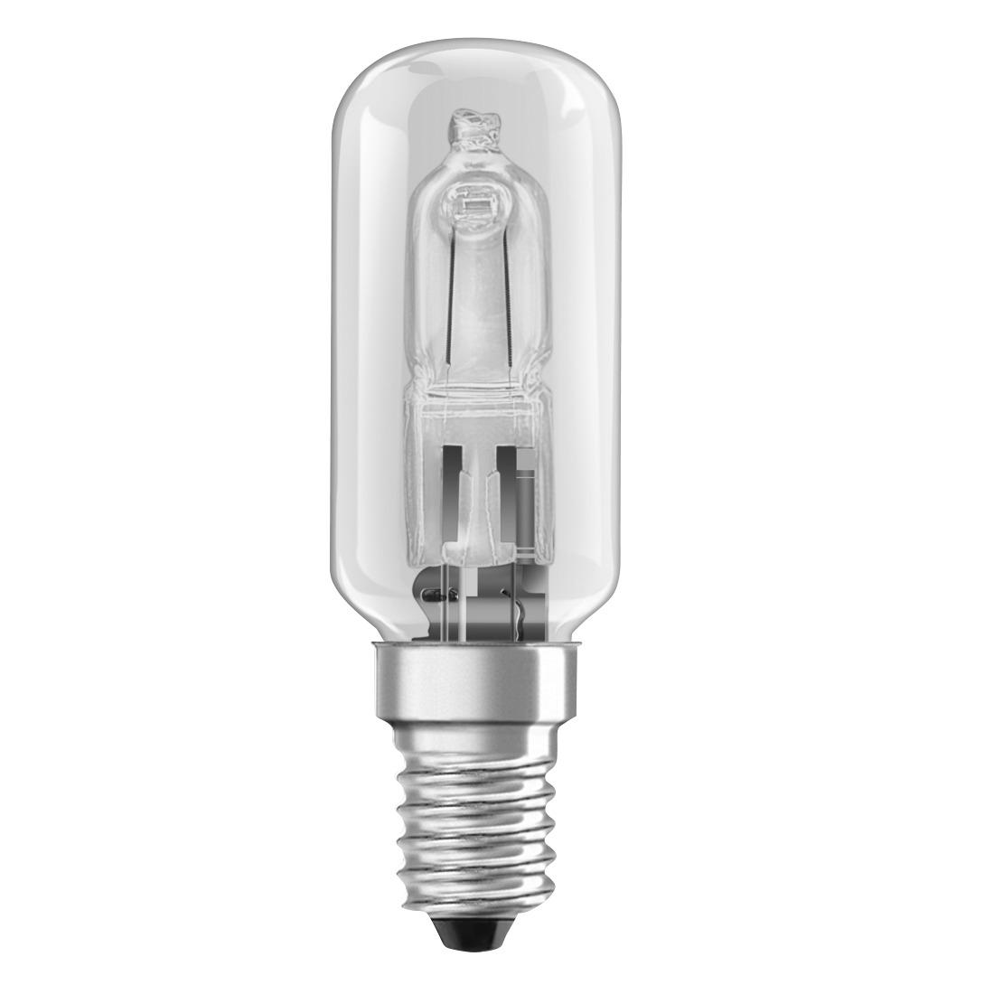 Xavax Dampkap halogeen lamp 25W transparant tube E14 Afzuigkap accessoire Transparant