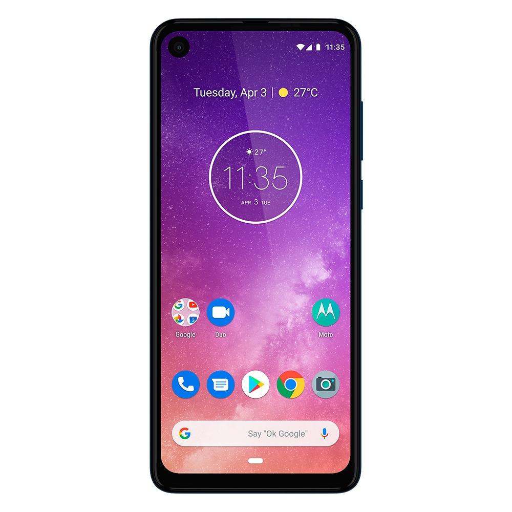 Motorola one vision 16 cm (6.3) 4 GB 128 GB 4G Blauw 3500 mAh