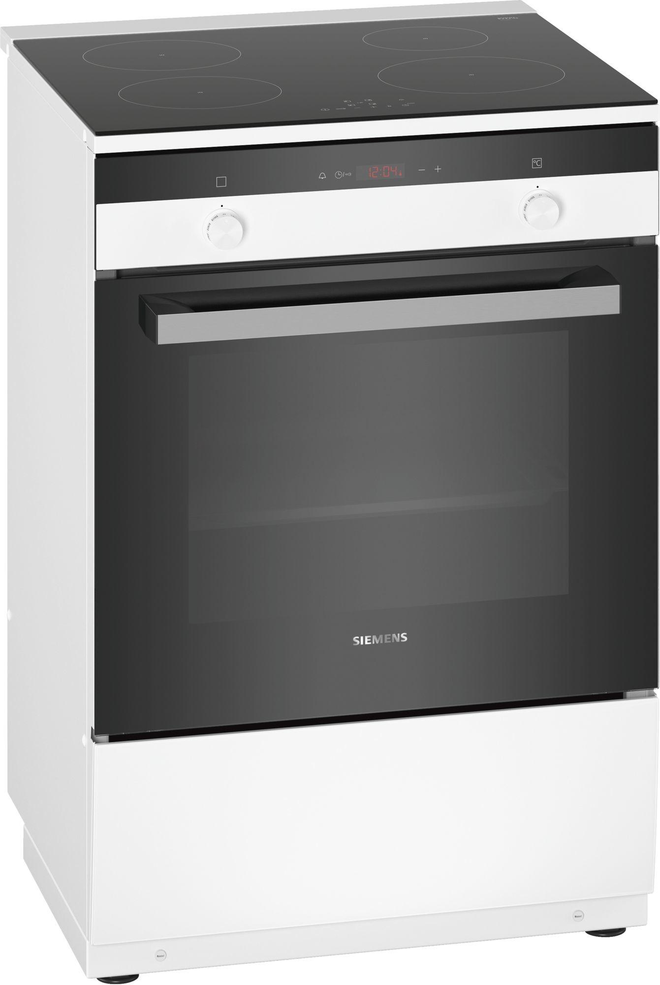 Siemens inductie fornuis HL9R30020U wit