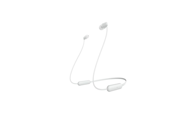 Sony WI-C200 Intraauraal Neckband Wit