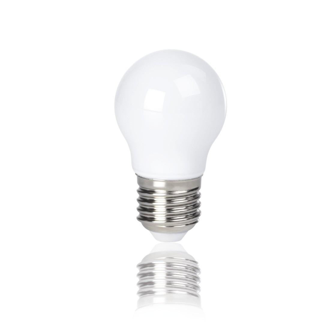 Korting Xavax Ledlamp, E27, 250lm vervangt 25W, druppellamp volledig glas