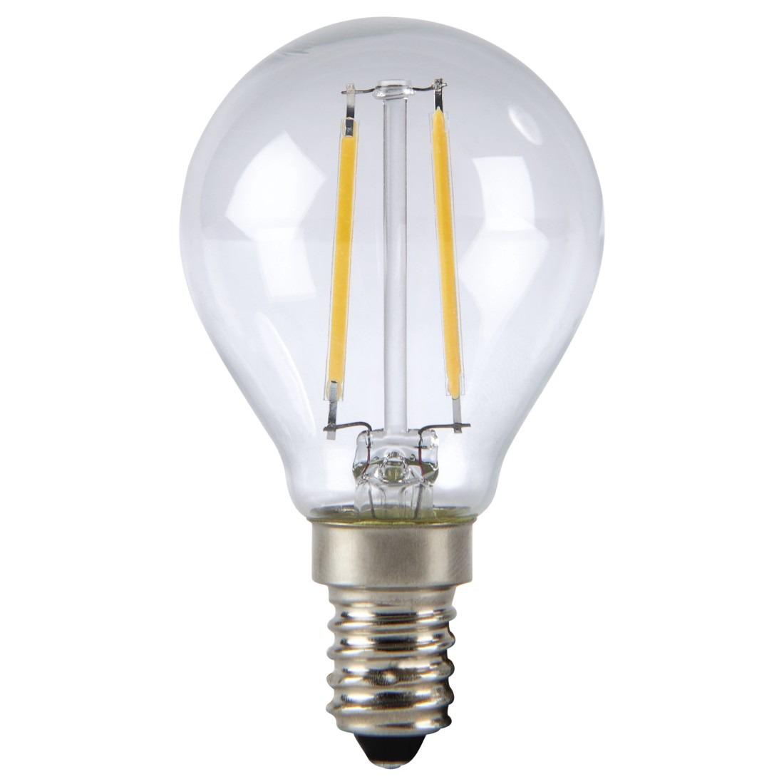 Korting Xavax Led gloeidraad, E14, 250lm vervangt 25W, druppellamp