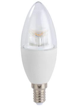 Korting Xavax Led lamp, E14, 470lm vervangt 40 Watt kaarslamp