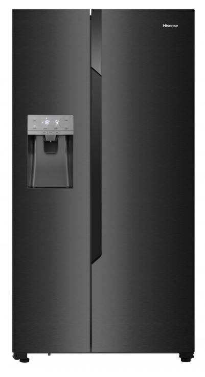 Hisense RS694N4TF2 Amerikaanse koelkast Zwart
