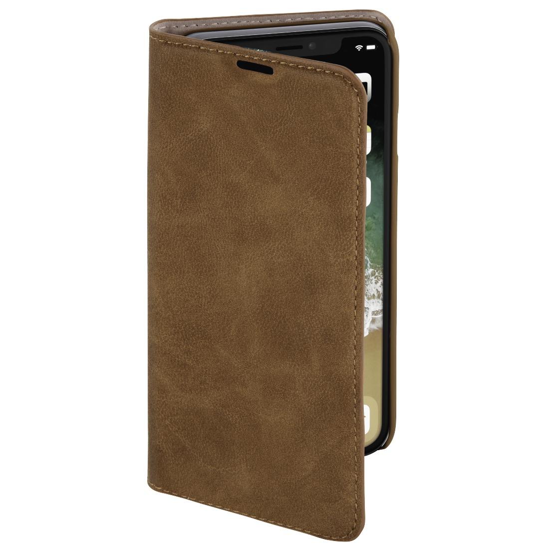 Hama telefoonhoesje Booklet guard Iphone XR bruin