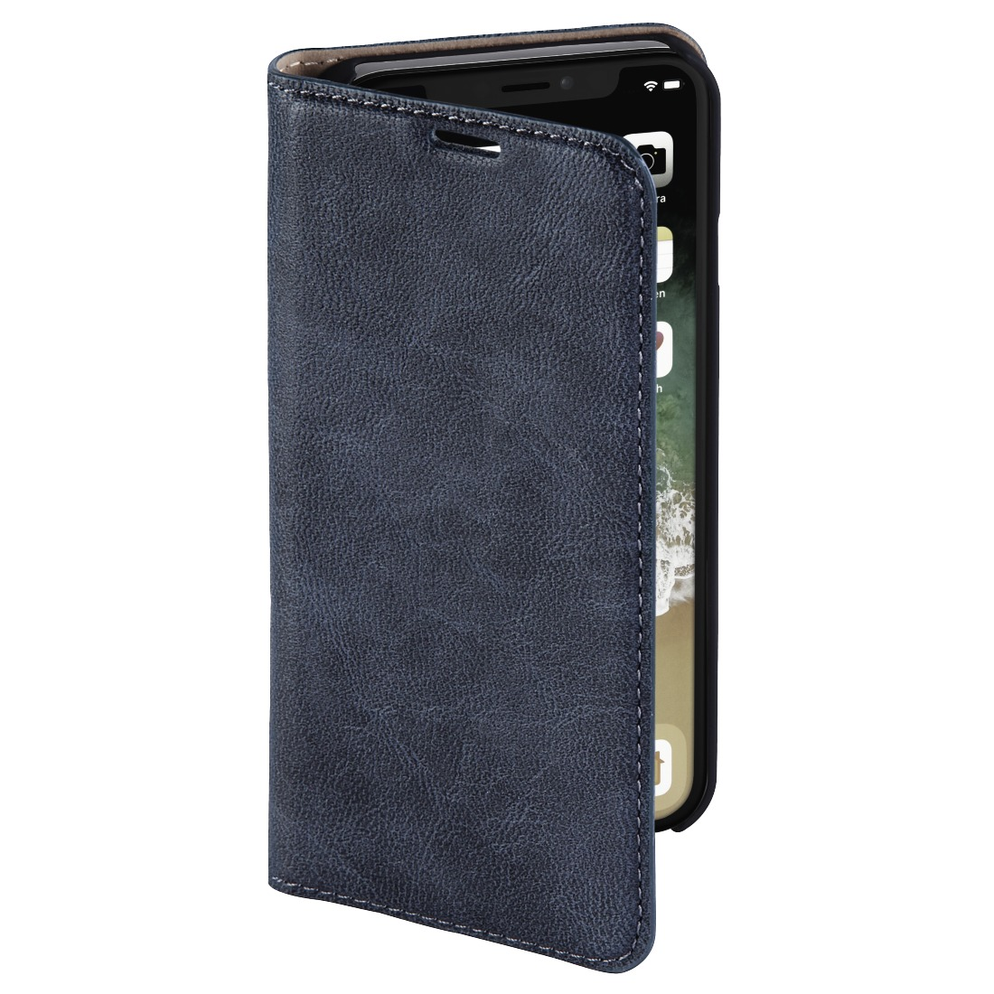 Hama telefoonhoesje Booklet guard Iphone XS MAX blauw