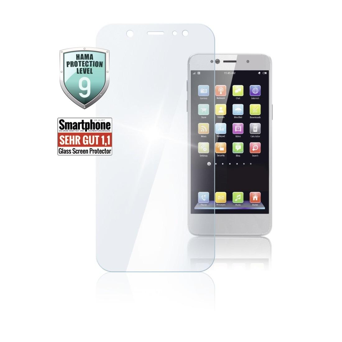 Hama Premium screenprotector voor Samsung Galaxy A40 Smartphone screenprotector Transparant