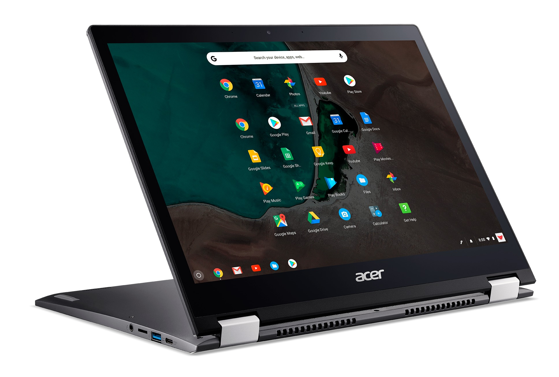 Afbeelding van Acer Chromebook Spin 13 CP713-1WN-33TB Chromebook - 13 Inch