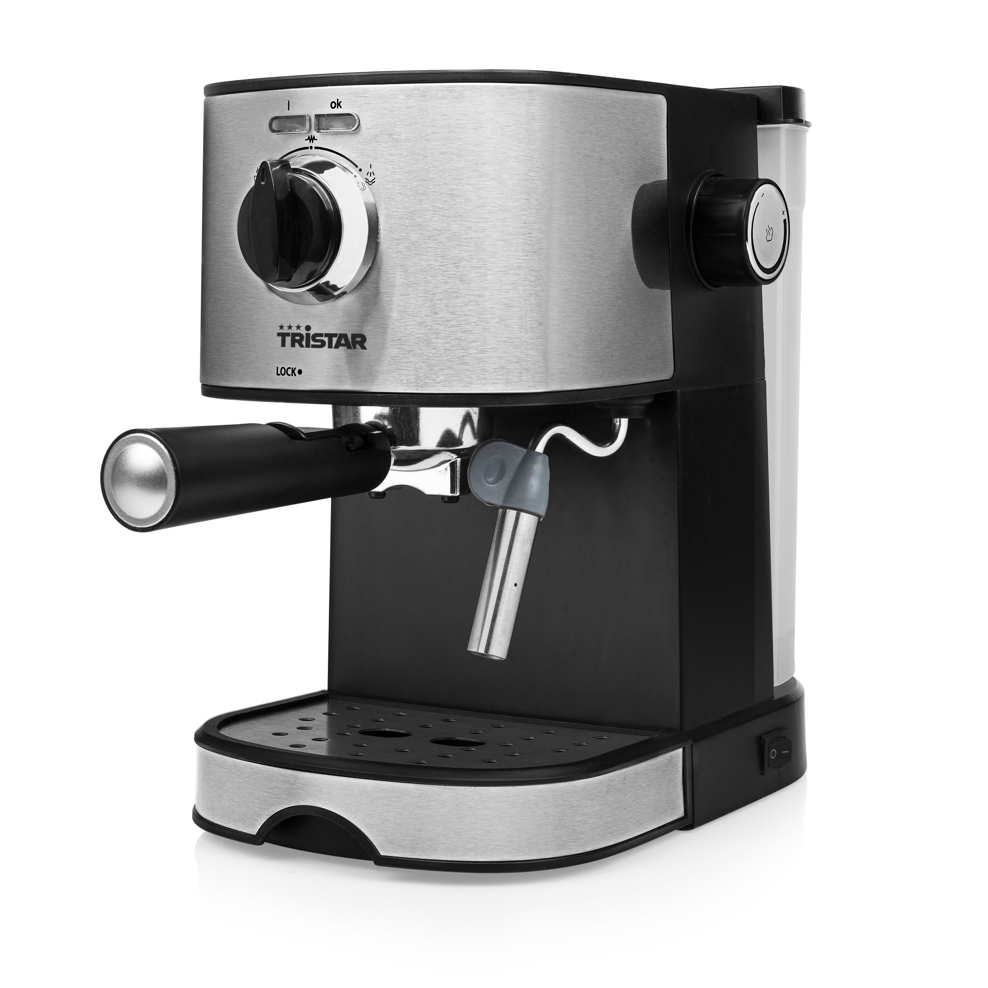 Espressomachine 15bar 2kopjes