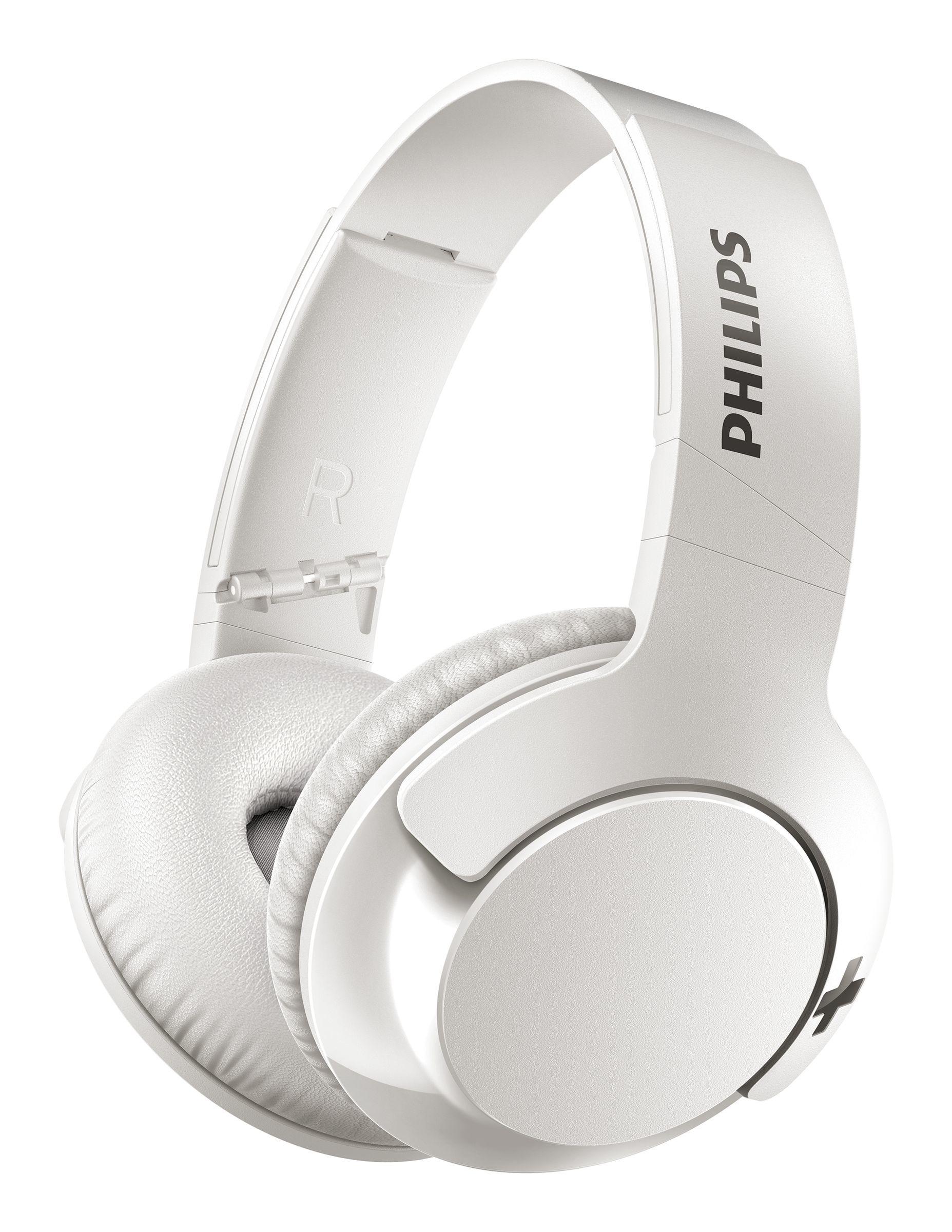 Foto van Philips SHB3175WT Bluetooth On-ear hoofdtelefoon
