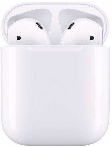 Foto van Apple AirPods 2 met draadloze oplaadcase Earbud oordopjes
