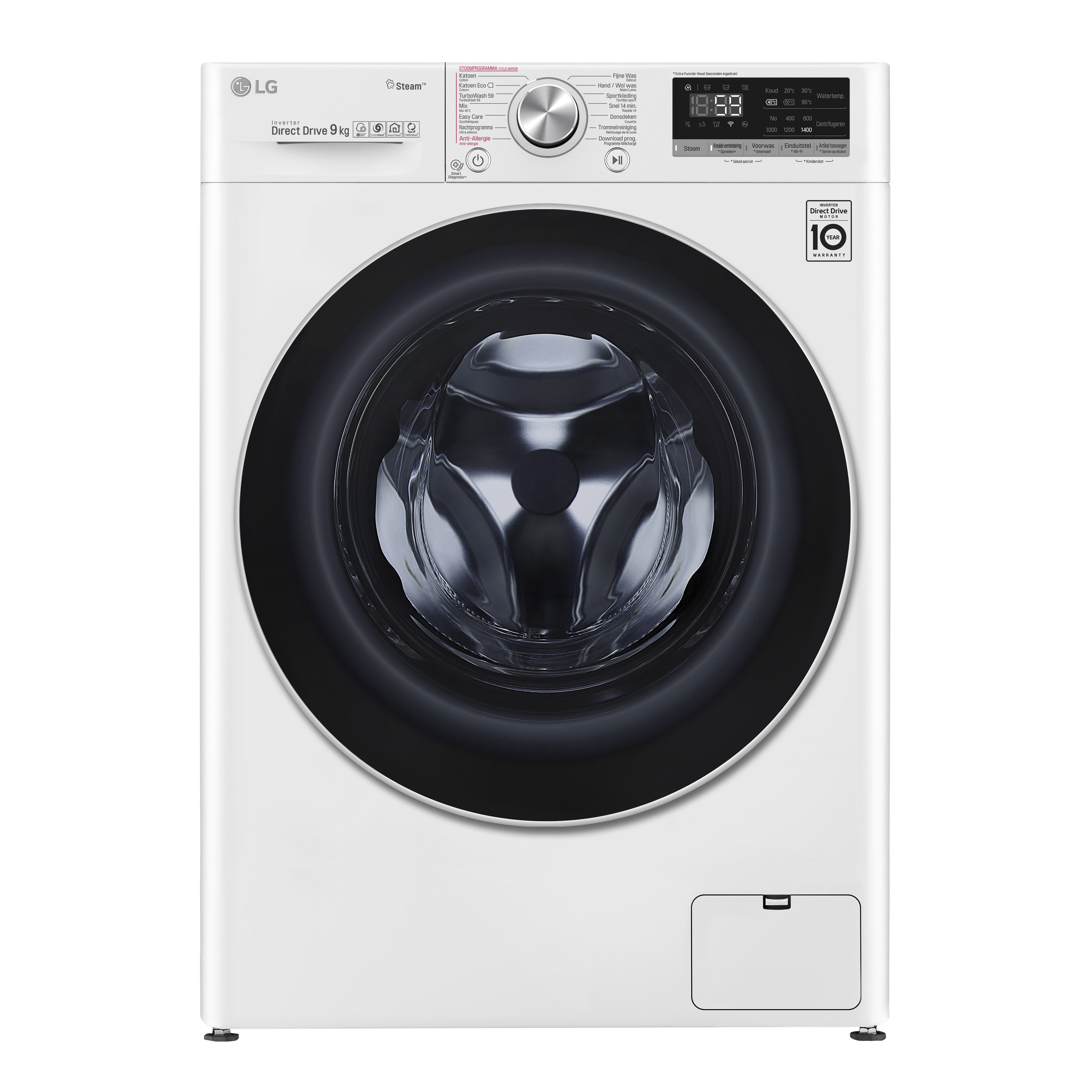 LG F4WV709P1 wasmachine