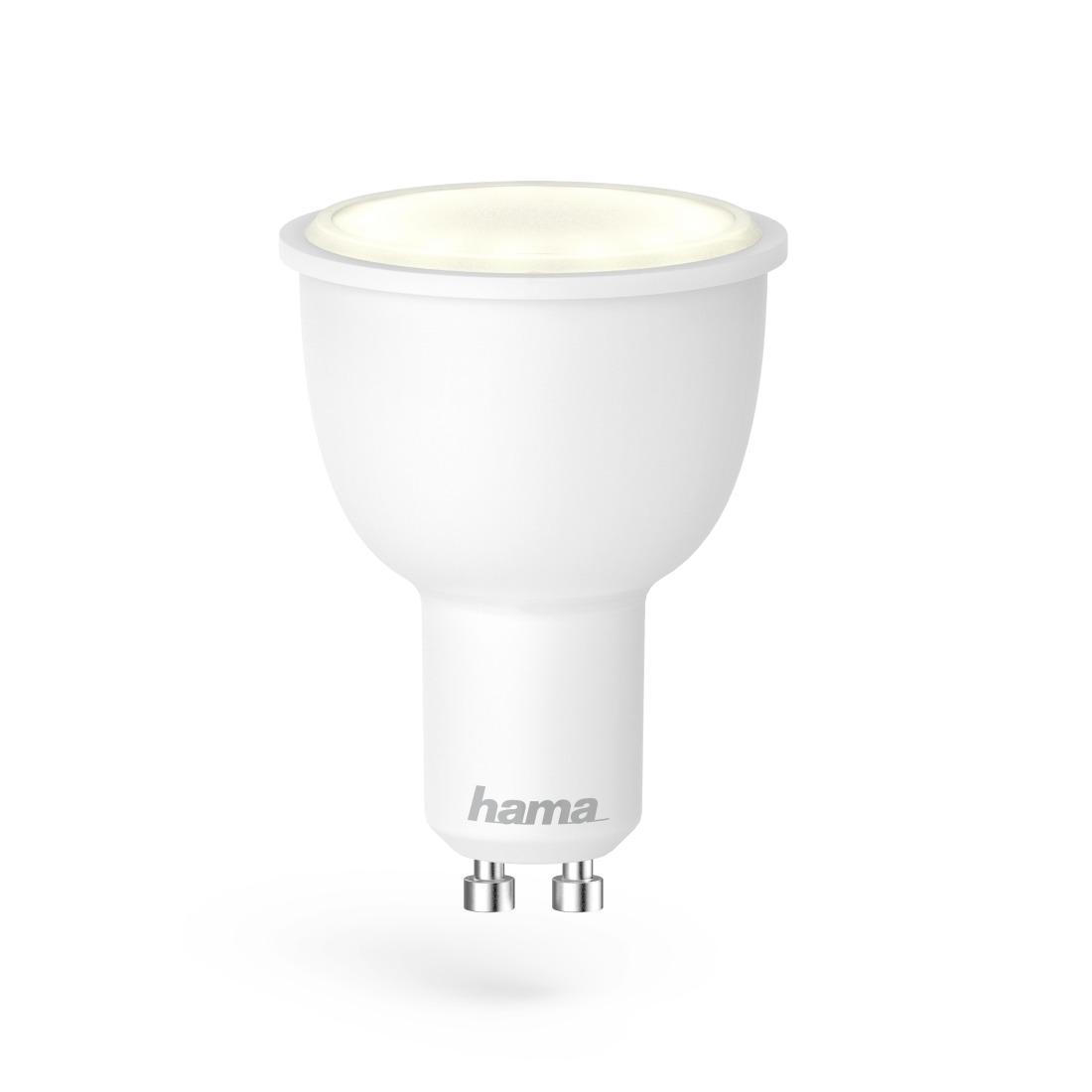 Hama Wifi-ledlamp, GU10, 4.5W, , dimbaar Smartverlichting Wit