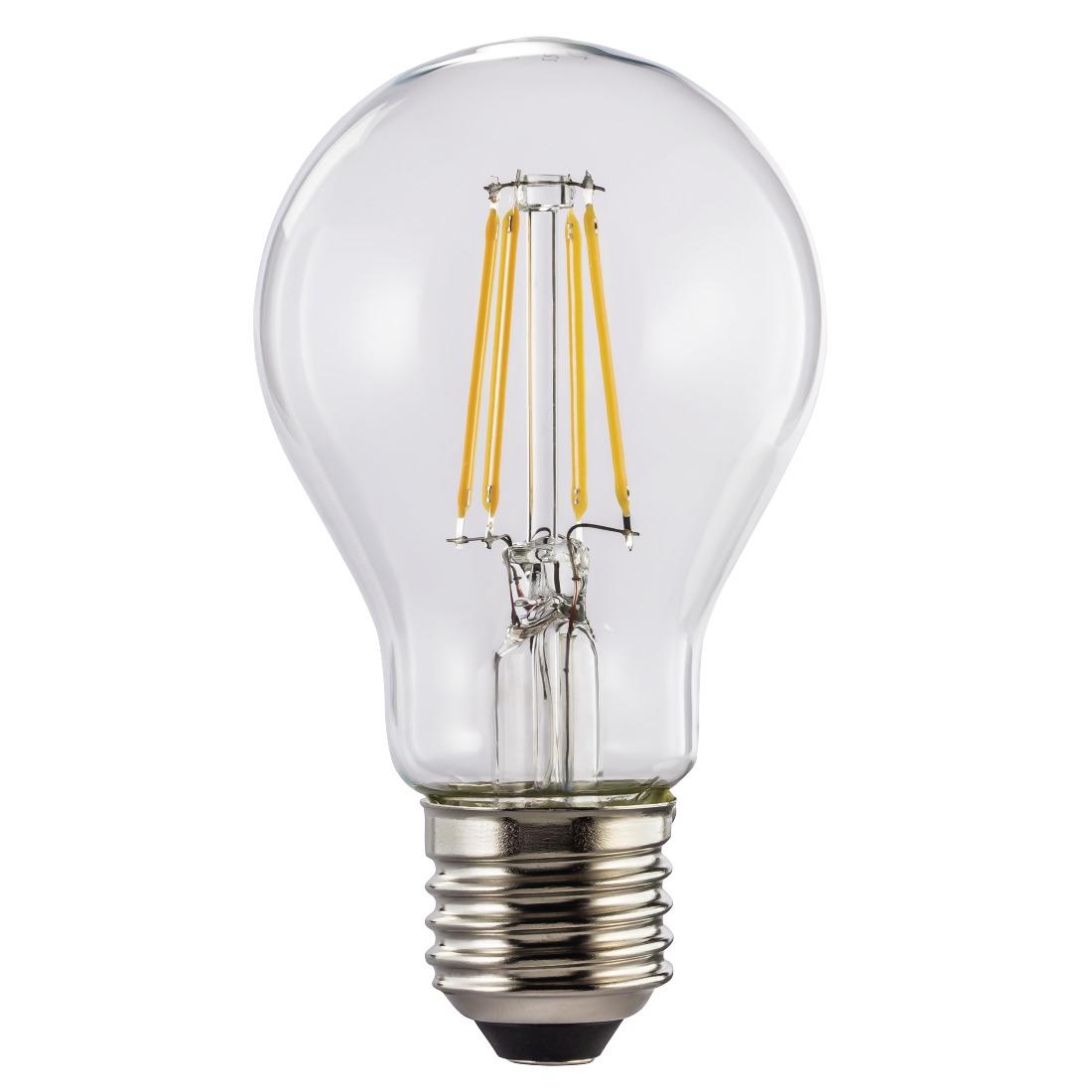 Hama Wifi-ledlamp-gloeidraad, E27, 8W, warm , dimbaar Smartverlichting