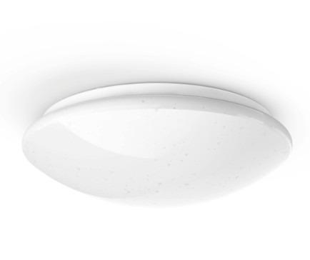 Korting Hama Wifi plafondlamp, glittereffect, rond, 30 cm Smartverlichting