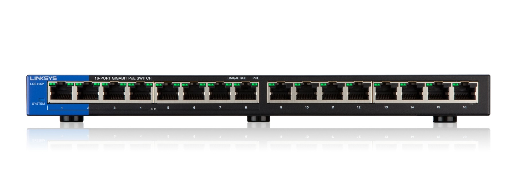 Linksys LGS116P-EU Switch