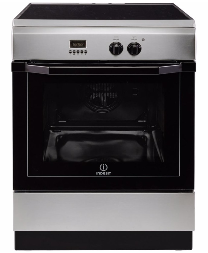Indesit I64I 6C6A(X)/NL Inductie fornuis Staal
