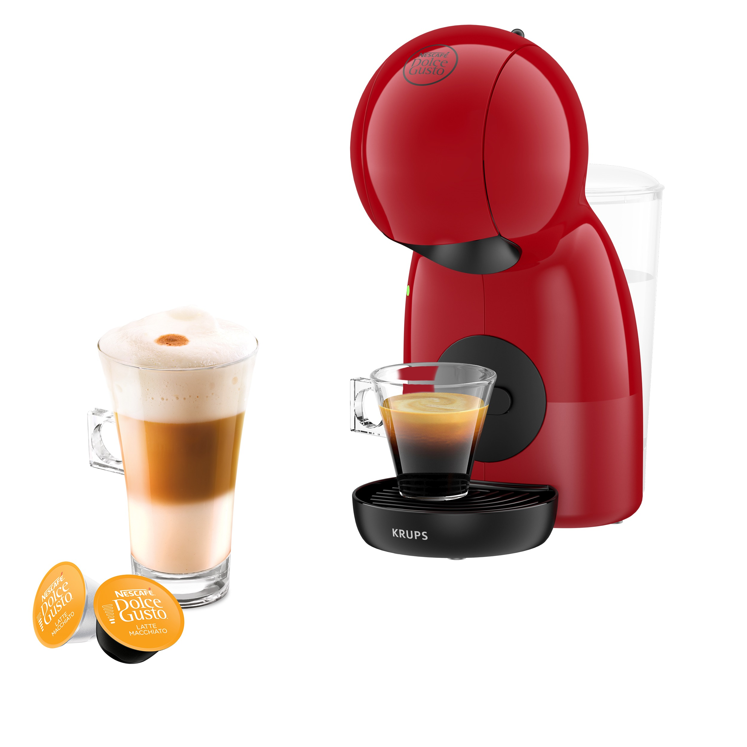 Krups KP1A05 Dolce Gusto Piccolo XS Espresso apparaat Rood
