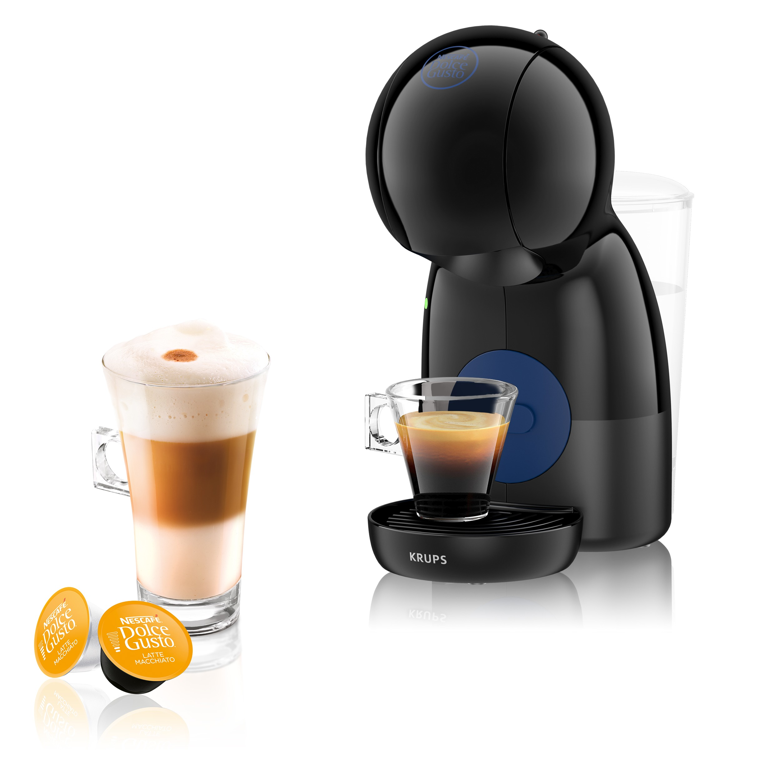 Krups KP1A08 Dolce Gusto Piccolo XS Espresso apparaat Zwart