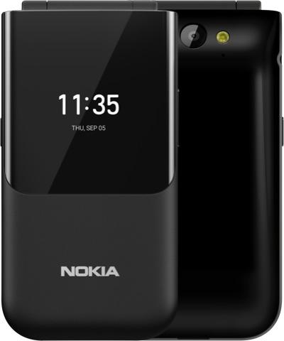 Nokia 2720 Flip 7,11 cm (2.8) 118 g Zwart