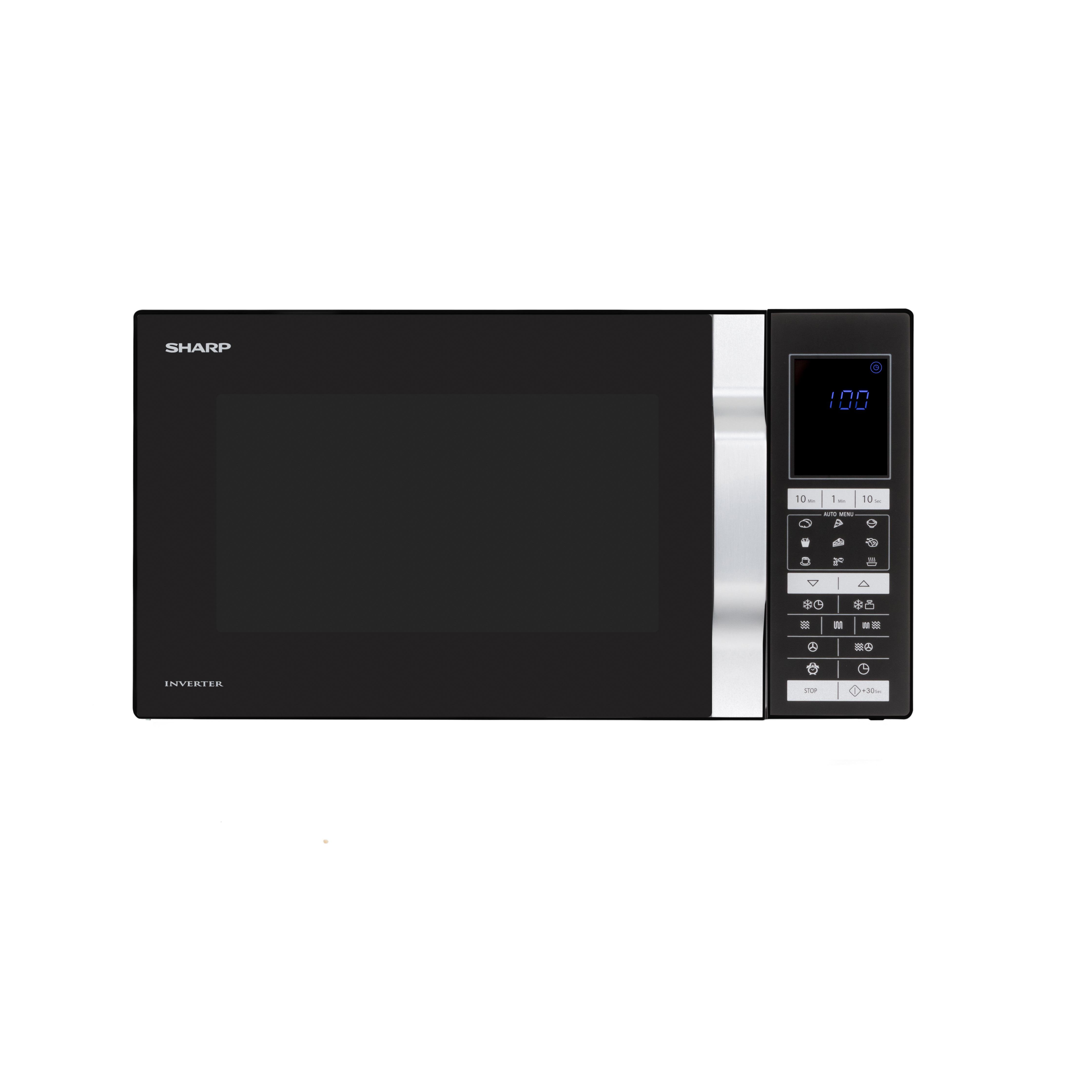 Sharp R890BK Combimagnetron Zwart