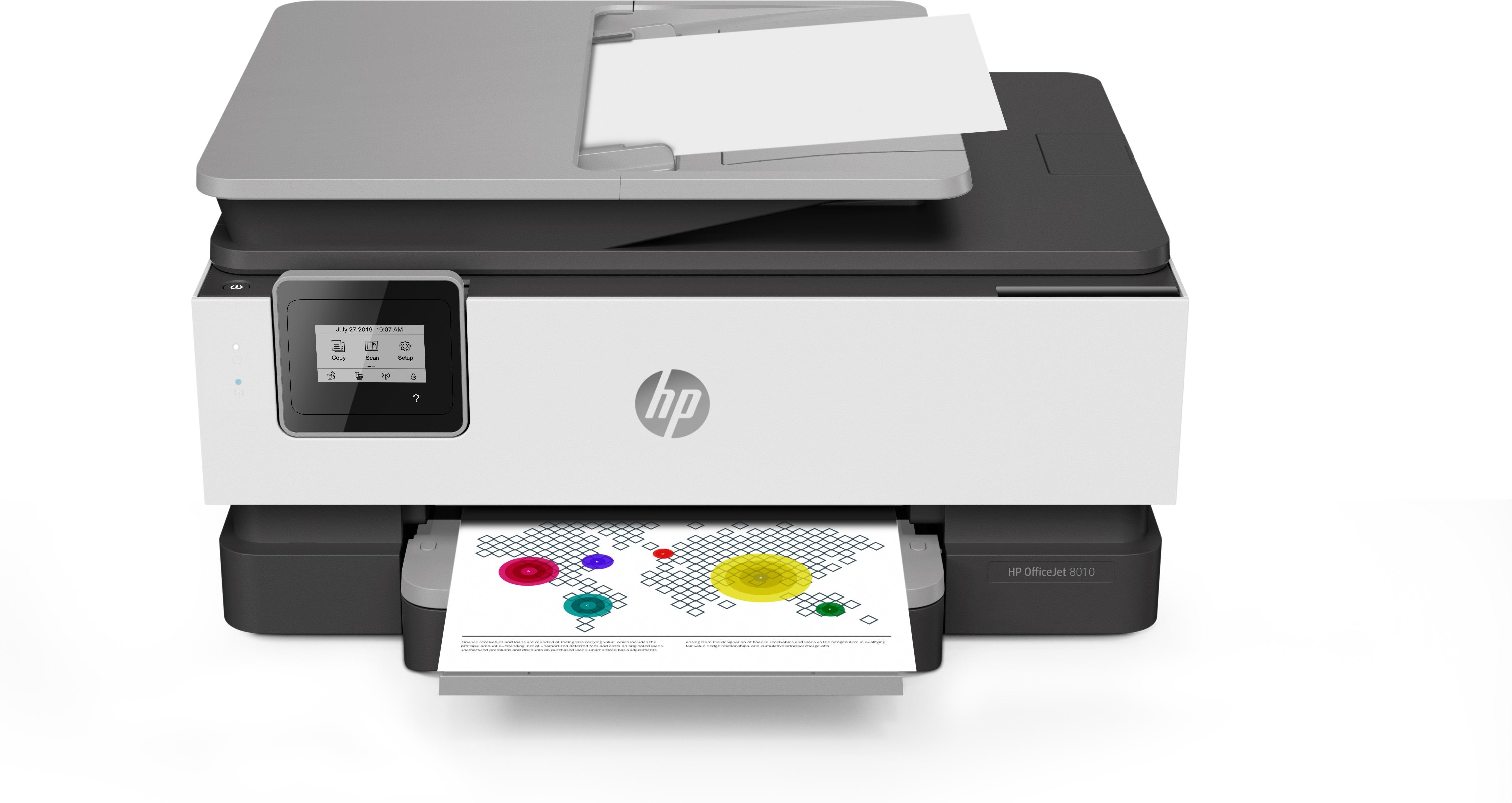 HP OfficeJet Pro 8012 All-in-one inkjet printer Grijs