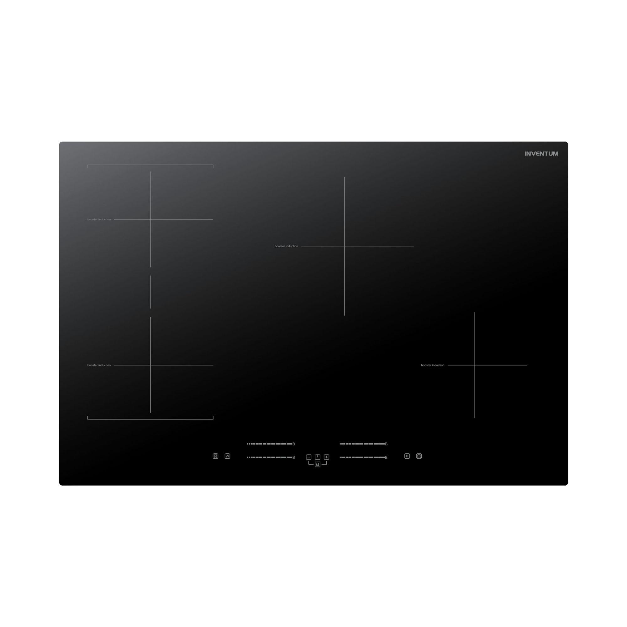 Inventum IKI7735 Inductie inbouwkookplaat Zwart